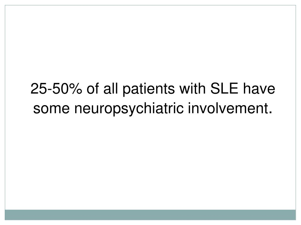 PPT - Neuropsychiatric Lupus PowerPoint Presentation - ID:654293