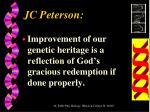 jc peterson