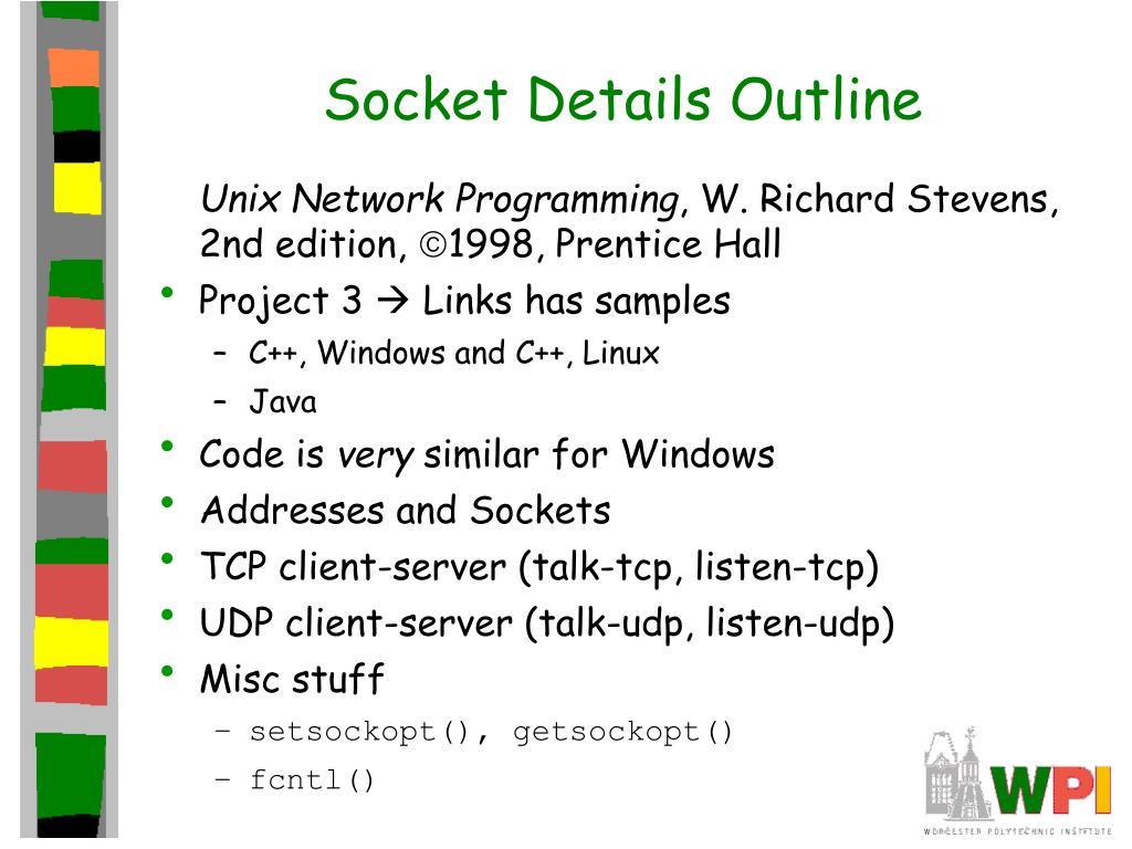 PPT - Sockets PowerPoint Presentation - ID:654327