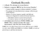 genbank records