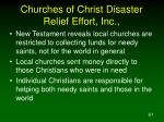 churches of christ disaster relief effort inc61