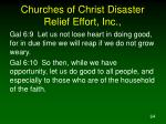 churches of christ disaster relief effort inc64