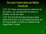 sunset international bible institute58