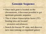 genomic sequence
