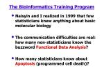 the bioinformatics training program
