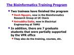 the bioinformatics training program15