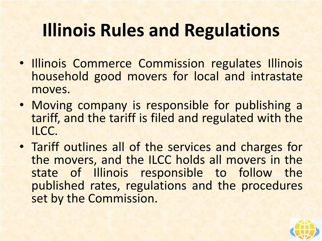 illinois rules and regulations l.