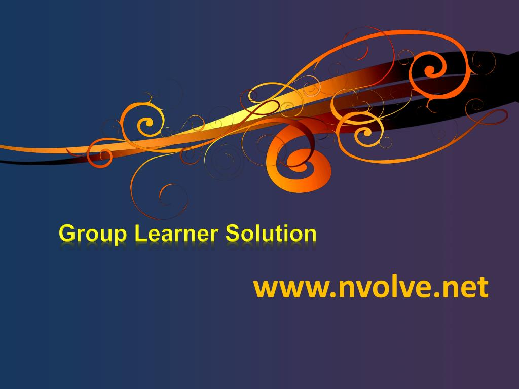 group learner solution l.