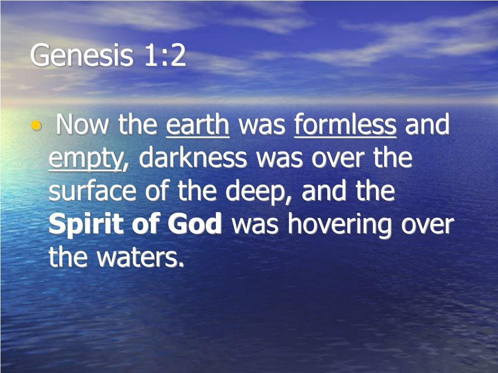 Genesis 1:2