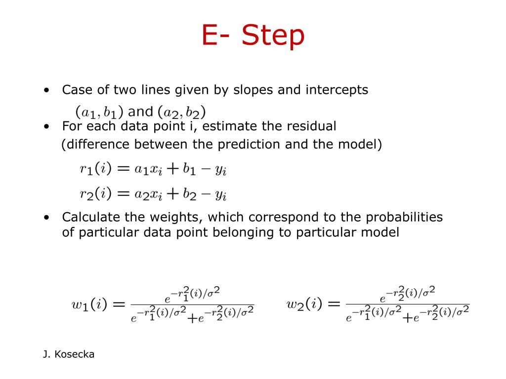 E- Step