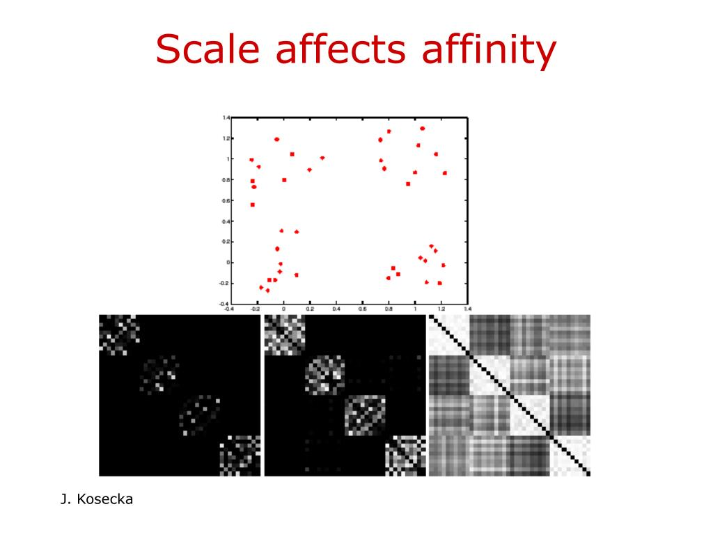 Scale affects affinity