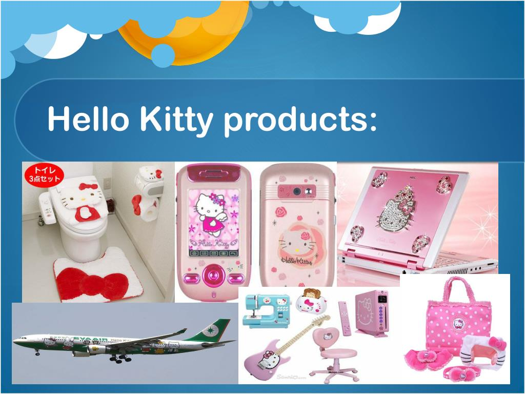 Hello Kitty products: