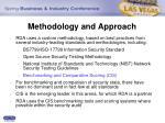 methodology and approach