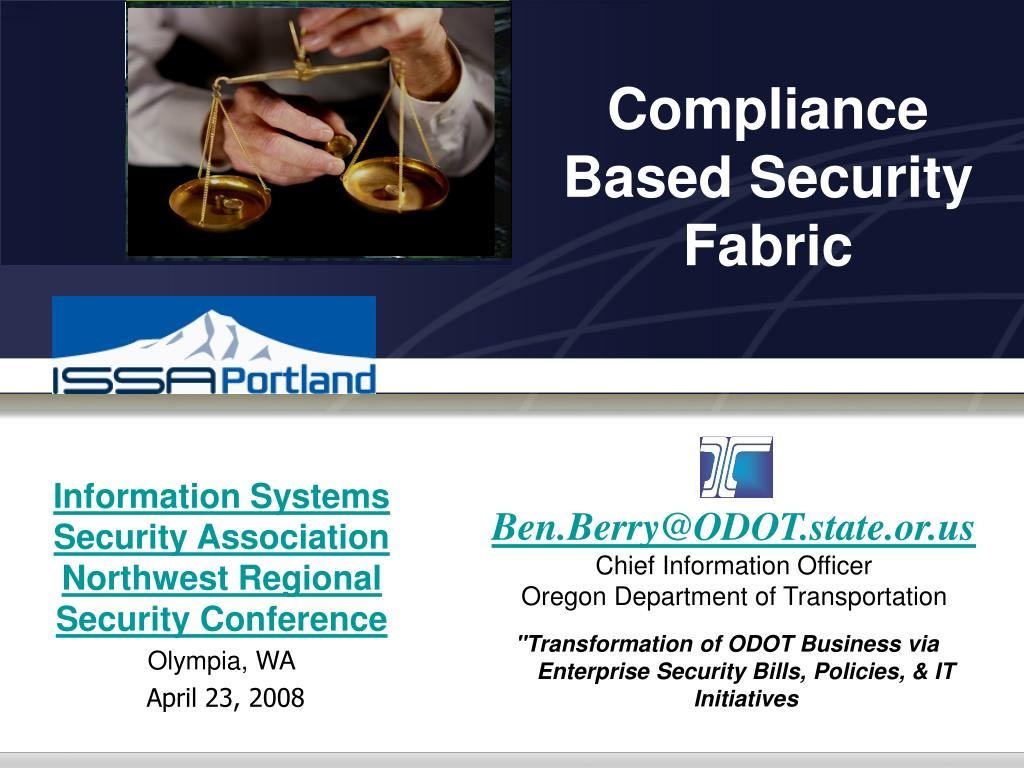 compliance based security fabric l.