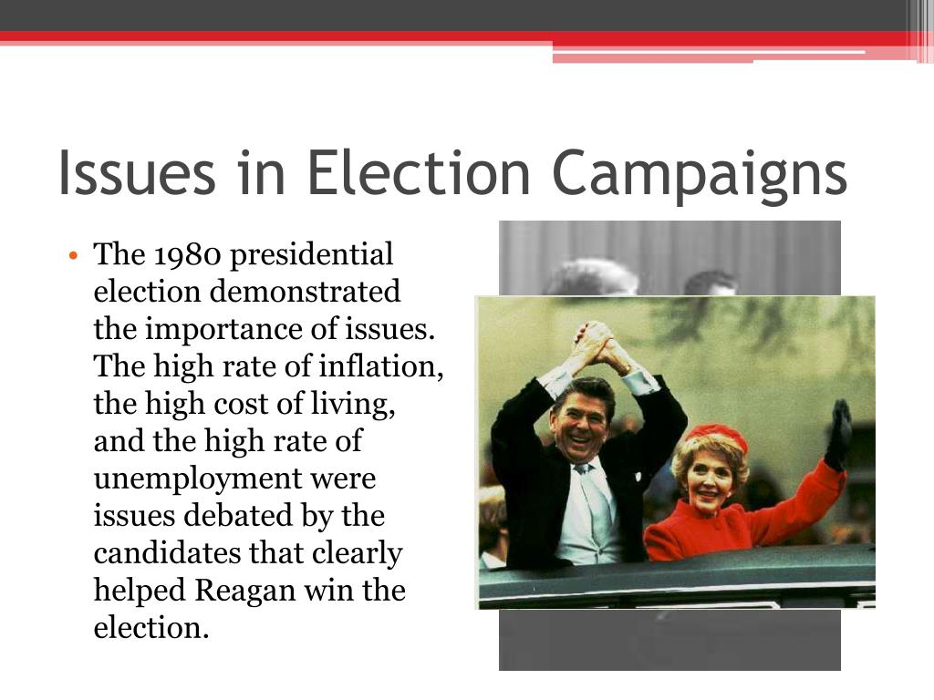 Issues in Election Campaigns