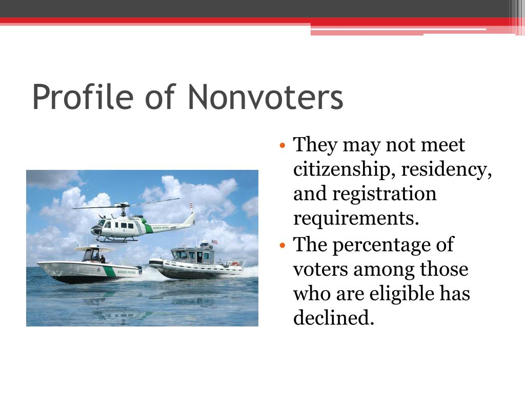 Profile of Nonvoters