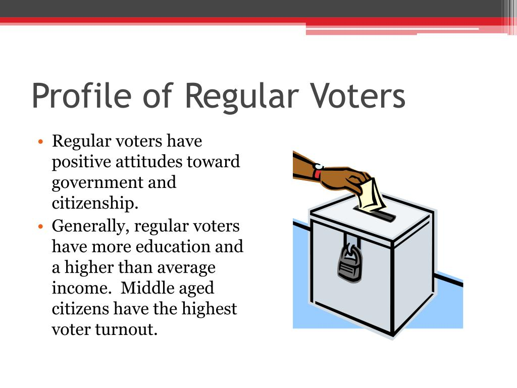 Profile of Regular Voters
