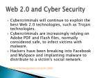 web 2 0 and cyber security
