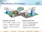 why wireless lan bridging