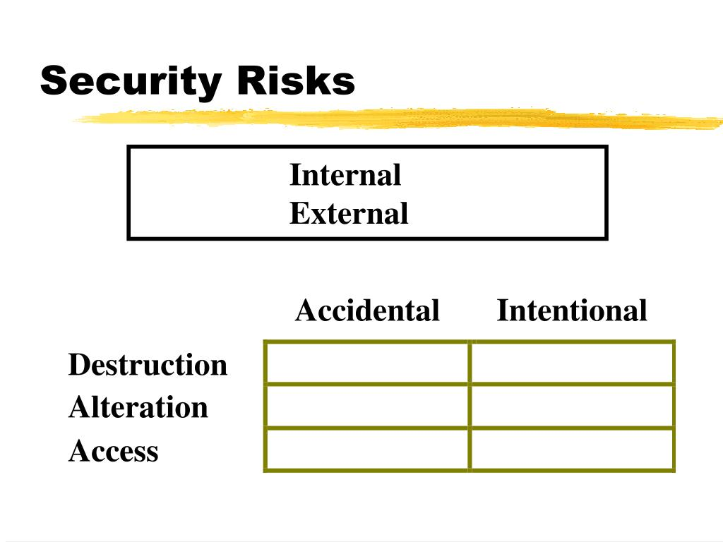 Security Risks