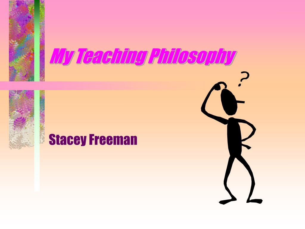 my teaching philosophy l.