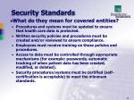 security standards23