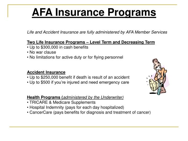 AFA Insurance Programs