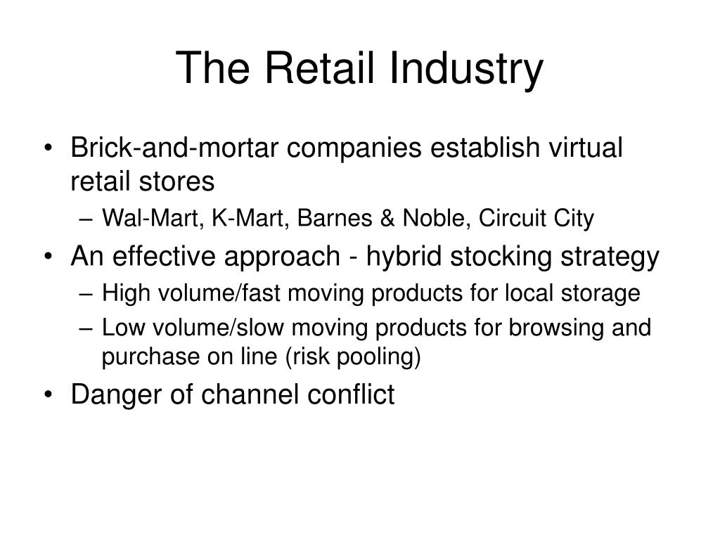 The Retail Industry