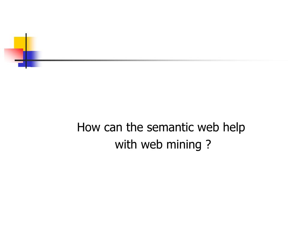 How can the semantic web help