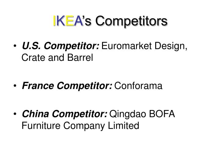 ikea history and swot essay This essay ikea company presentation and other 64,000  a summarised porter's five forces of competitive advantage and the swot  ikea company history.