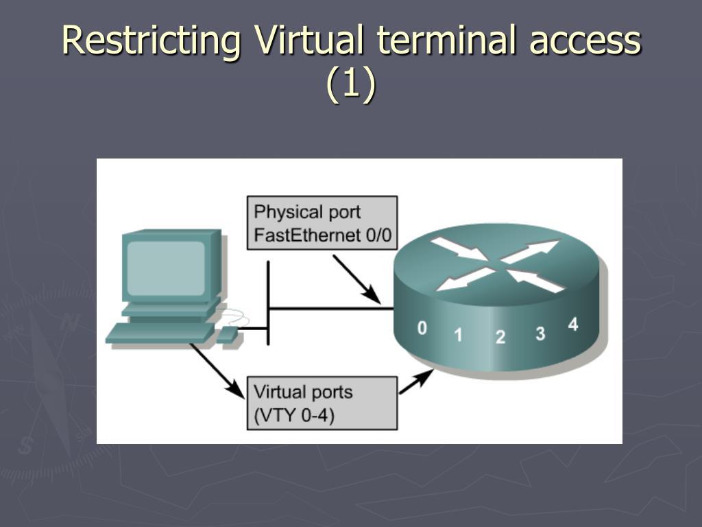 Restricting Virtual terminal access (1)