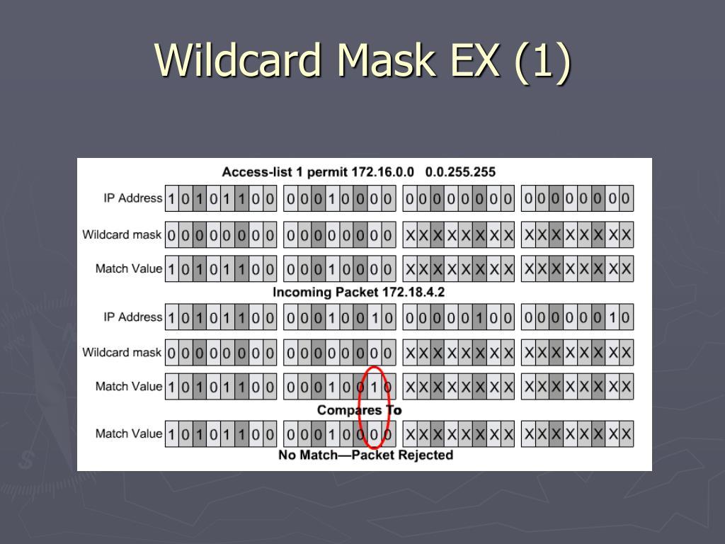 Wildcard Mask EX (1)