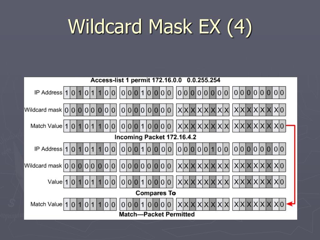 Wildcard Mask EX (4)