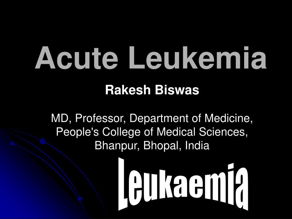 acute leukemia l.