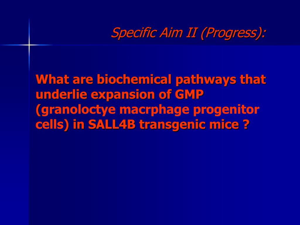 What are biochemical pathways that underlie expansion of GMP (