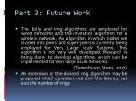 part 3 future work