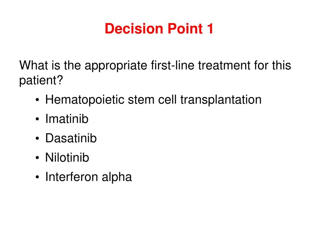 Decision Point 1