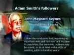 adam smith s followers16