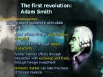 the first revolution adam smith5