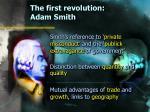 the first revolution adam smith6