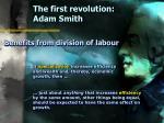 the first revolution adam smith7
