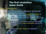the first revolution adam smith9