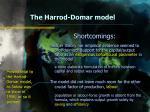 the harrod domar model22