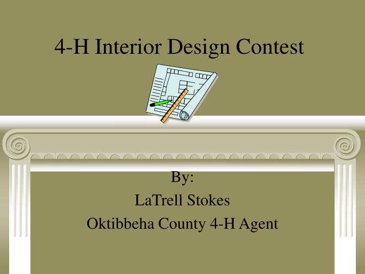 4 h interior design contest n.