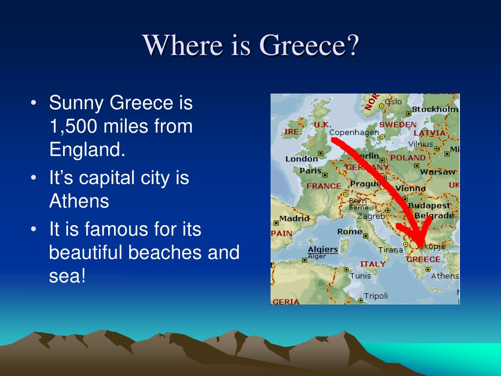 Look at this powerpoint to find out about greece! Ppt download.