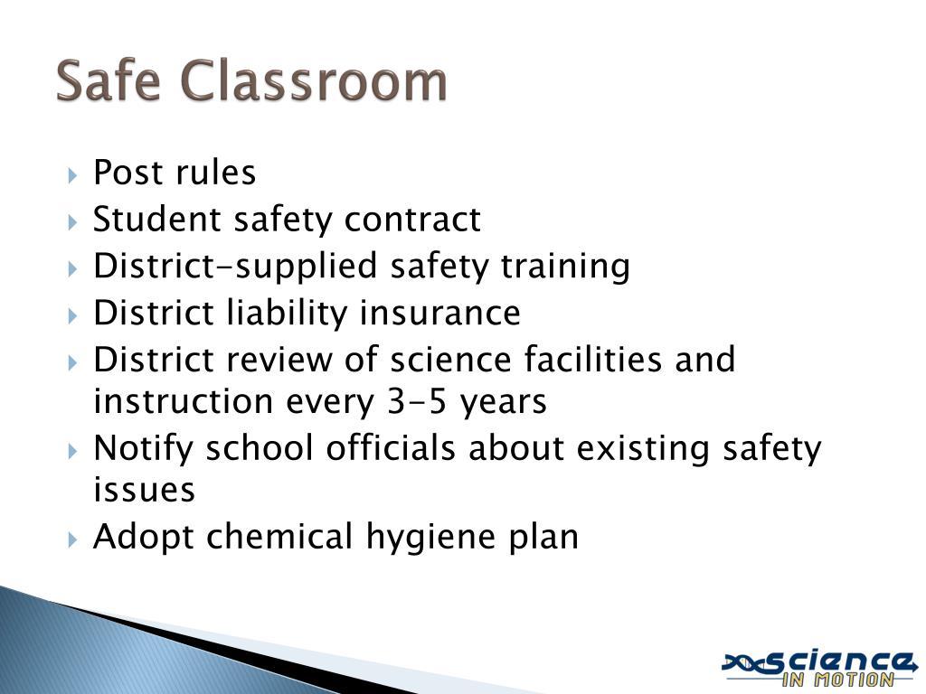 Safe Classroom