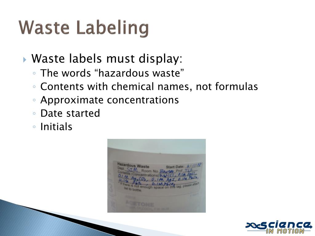 Waste Labeling