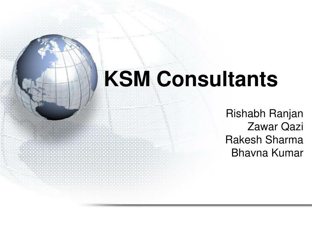 ksm consultants l.