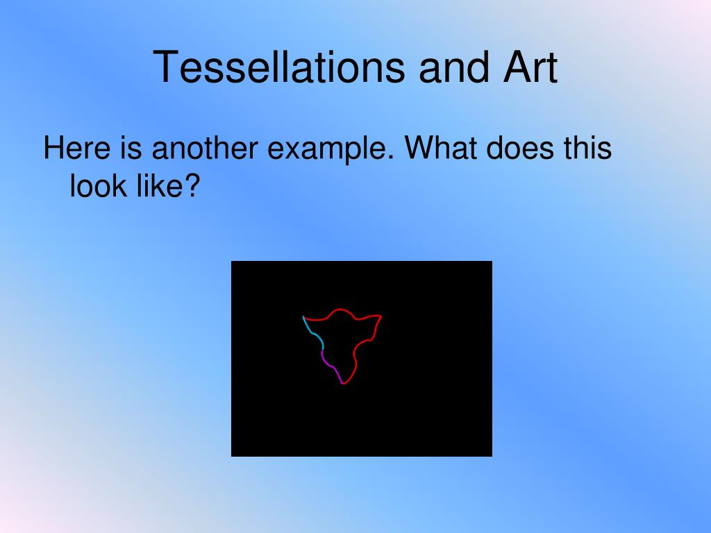 Tessellations and Art