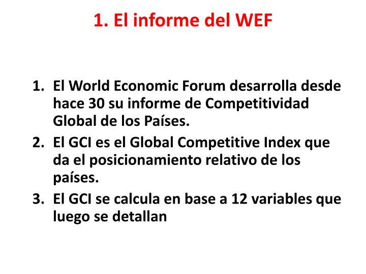 1 el informe del wef